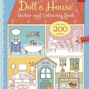 Doll's House Sticker & Colouring Book