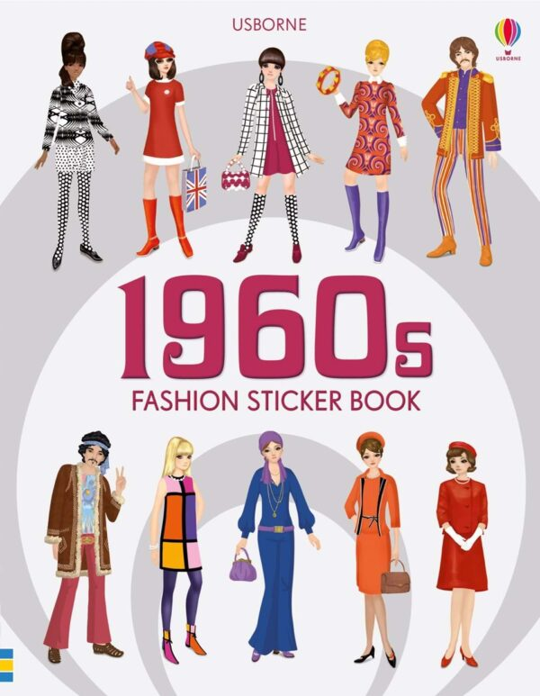 1960's Fashion Sticker Book